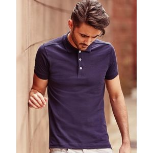 R566M Russell Polo uomo stretch slim fit tessuto piquet di alta qualità Thumbnail